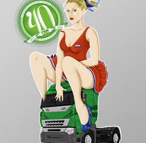 CRM 40 Aniversario. A Advertising, Design&Illustration project by Juan Arias Benito - Mar 18 2013 05:11 PM