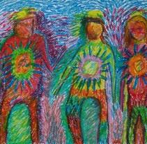 Oleo Pastel 01. Un proyecto de Ilustración de Gerardo María Castro Panizza - 21-03-2013