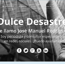 Dulce Desastre. A Software Development, and Design project by Sara Soler Bravo - 03.28.2013