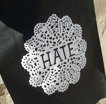 Hate print. A Design&Illustration project by Bernat Solsona         - 30.03.2013