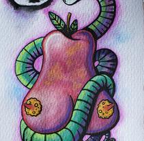Dulce pecado. A Illustration project by Fernando López Tarodo - Apr 06 2013 12:53 PM