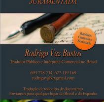 Gráfica Rodrigo Vaz. Un proyecto de Diseño, Ilustración y Publicidad de Luiza Apoenna Araujo Ximenes         - 11.04.2013