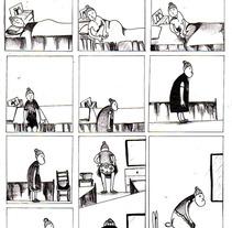 mil noches y un dia . Um projeto de Ilustração, Design de personagens e História em quadrinhos de raquel arriola caamaño         - 30.11.2012