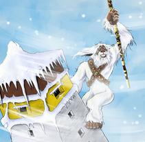 Yeti Katmandu. A Illustration project by Miguel Ozonas Gregori - 16-04-2013