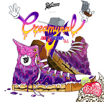 Creamynal Westape (CD). A Design, Illustration, Music, and Audio project by Chiko  KF - 17-04-2013