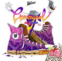 Creamynal Westape (CD). Un proyecto de Diseño, Ilustración, Música y Audio de Chiko  KF - Miércoles, 17 de abril de 2013 08:06:02 +0200