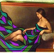 """La maja vestida"". A Design, Illustration, Installations, and Photograph project by ZANART - 19-04-2013"