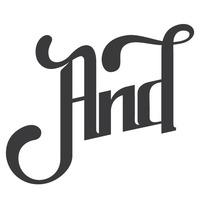 AND logo. Um projeto de Design, Ilustração e 3D de Jose Andreu         - 25.04.2013