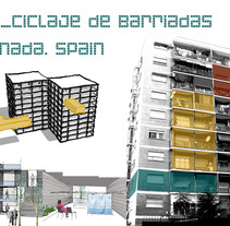 [Re]cycling  of suburbs. Granada. Spain. Un proyecto de  de Rocío Romero Rivas - 27-04-2013