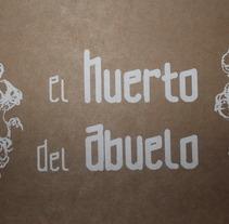 El huerto del abuelo. Un proyecto de Diseño, Ilustración y UI / UX de Patricia Crego del Val - 19-05-2013