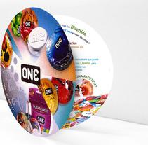 Diseño Folleto One Condoms (España). Un proyecto de Diseño y Publicidad de Ateigh Design Creación & Diseño Web         - 20.05.2013