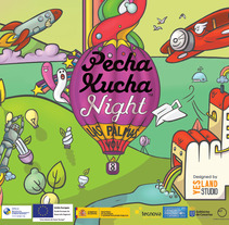 PechaKucha Night Las Palmas Vol.8. A Illustration project by Herbie Cans - Jun 16 2013 04:01 AM