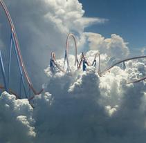 Cloud parks. A Photograph&Illustration project by Rafa Zub - Dec 25 2014 12:00 AM