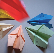 Paperplanes. A Design project by Dani Vázquez - Jul 22 2013 06:26 PM