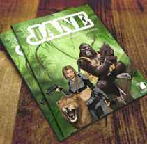 Jane (Portada para comic). A Illustration, and Editorial Design project by Arturo Mata - 26-07-2013