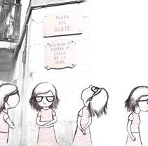 Plaça del Dubte. A Illustration project by Elisa Bernat         - 29.07.2013