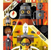Pitarque Robots. A Design&Illustration project by Raúl Gómez estudio - Aug 05 2013 01:21 PM