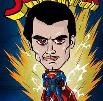 Superman. Um projeto de Design e Ilustração de Jpdesign OK         - 10.08.2013