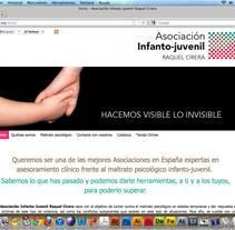 Web para asociación Raquel Cirera. A Design&IT project by Paula Plaza Bergés         - 19.08.2013