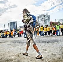 REPORTAJE - FOTOPERIODISMO . A Photograph project by Karolina  Moon         - 19.09.2013