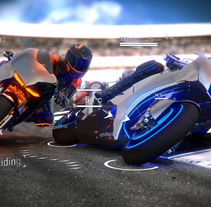 Moto Gp intro. A Advertising, Film, Video, TV, and 3D project by Juan Asperó         - 10.10.2013