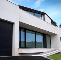 Vivienda Unifamiliar Aislada en Corvera de Asturias. Un proyecto de Diseño, Instalaciones, Arquitectura, Arquitectura interior y Diseño de interiores de Jesús Sotelo Fernández - 11-10-2008