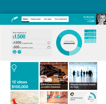 Nextinit. A UI / UX, Interactive Design, and Web Design project by Jimena Catalina Gayo         - 13.10.2013