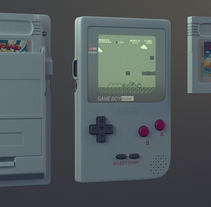 GameBoy. A Design, Photograph, and 3D project by Alvaro Orasio Garcia         - 15.10.2013