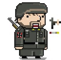 The Holocaust Sprites (Videogame) . Un proyecto de Diseño, Ilustración e Informática de Adrián G. Moyano         - 17.10.2013