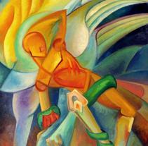 Pintura - Mitología y Religión. Um projeto de Ilustração, Artes plásticas e Pintura de Eva Roig         - 01.11.2013