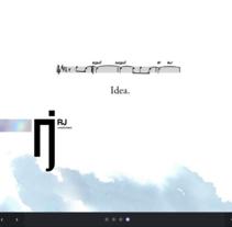 RJ Creatividad. Um projeto de Desenvolvimento de software e UI / UX de Juan Monzón         - 04.11.2013