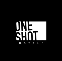 One Shot Hotels // Identidad Visual.. A Design project by Tony Raya  - Jan 23 2014 12:00 AM