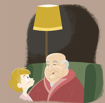 Mi Abuelo tiene EPOC. A Illustration project by Charlie Pascual         - 15.11.2013