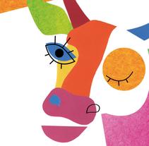 """Cover """"¿Cuál es tu vaca?"""" (cuaderno de emprendimiento para jóvenes). A Design&Illustration project by ainara garcía         - 18.11.2013"""