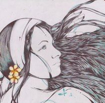 EL CANTO DE LA SIRENA. A Illustration project by IVHAN R FRANCO         - 25.11.2013