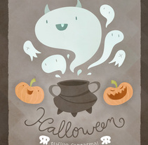 Halloween Poster. A Illustration project by Érika G. Eguía - 29-10-2013