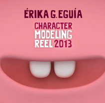 Character Modeling Reel. A 3D project by Érika G. Eguía - 04-05-2013