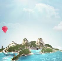 Fiat Estrada Concept Express. Un proyecto de Publicidad y 3D de Juanjo Bernabeu - Martes, 26 de noviembre de 2013 00:00:00 +0100