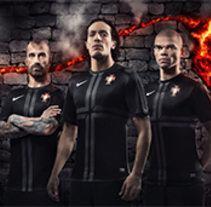 Nike Portugal away kit. A Advertising, and Photograph project by DAVID CASAS SANCHEZ         - 25.02.2013