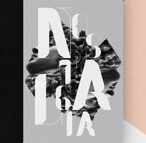 Nostalgia Typeface. A Design&Illustration project by Pablo Abad         - 26.11.2013