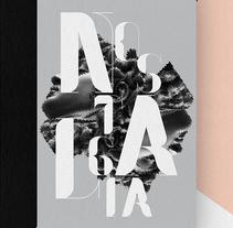 Nostalgia Typeface. Un proyecto de Diseño e Ilustración de Pablo Abad - Miércoles, 27 de noviembre de 2013 00:00:00 +0100