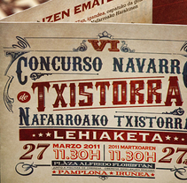 Concurso Navarro de Txistorra 2011. A Design, and Advertising project by mimetica - 27-11-2013