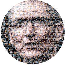 Collage Tim Cook. Un proyecto de Ilustración de Ernesto_Kofla  - Lunes, 02 de diciembre de 2013 00:00:00 +0100