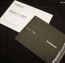 Process Forum 2011 SOFTWARE AG. A Design project by Diseño Gráfico y Arte Final - Dec 02 2013 12:00 AM