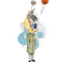 Diario de Recortes (Cortar y Pegar). Ilustraciones hechas a mano.. Un proyecto de Ilustración y Collage de Fernando Mendoza  - Martes, 20 de octubre de 2015 00:00:00 +0200