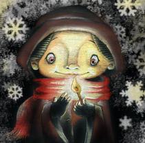 La cerillera. Um projeto de Ilustração de Iván Torres         - 03.12.2013