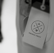 THOMAS TRENT. A Design project by MICAELA CARBAJAL - 12.07.2013
