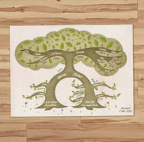 Arbol genealógico. A Design, Illustration, and Advertising project by Rafa Garcia  - Nov 07 2012 12:00 AM
