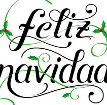 Feliz Navidad. A Design project by Juan Carlos López Gómez         - 09.12.2013