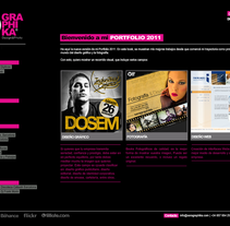 Diseño web. A Design project by Sara Graphika  - 26-12-2013
